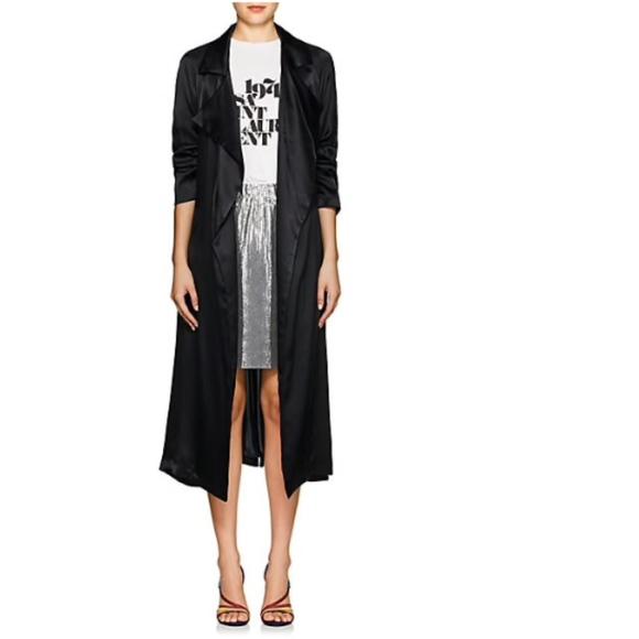 97ebcb0f847 We Are Leone Jackets & Coats | Tallulah Silk Trench Coat W Tags ...